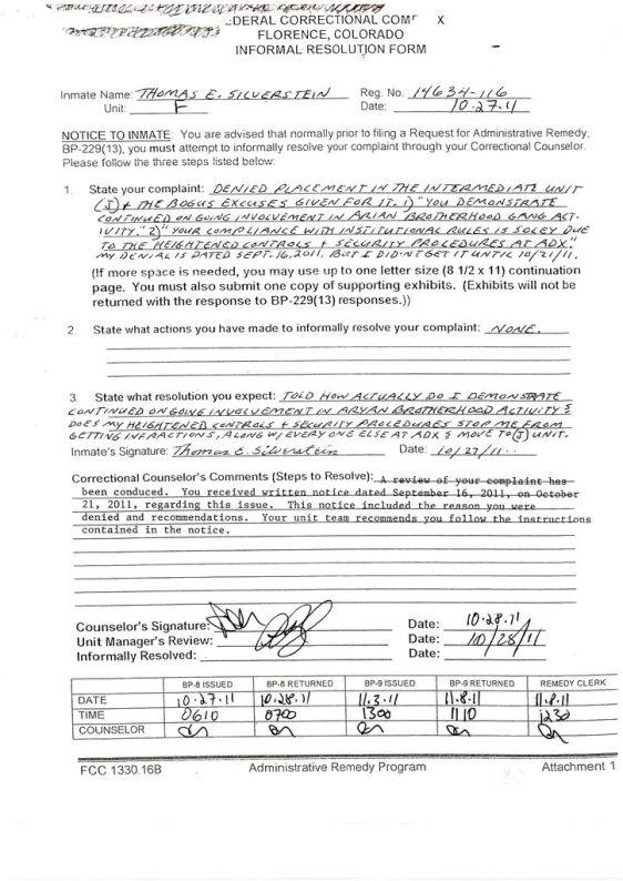 SDP Rejection response Tom 10-27-2011