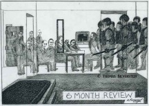 6 Month Review. Artist: ©Thomas Silverstein