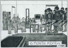 6 Month Review. Artist: ©Thomas Silverstein