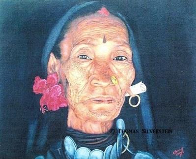 Asian Woman. Artist: ©Thomas Silverstein